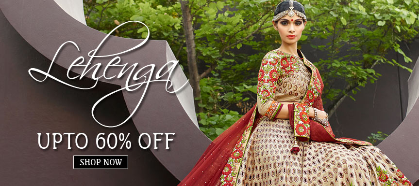 Wedding Lehengs upto 60% Off