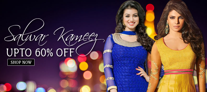 Salwar Kameez Upto 60% Off