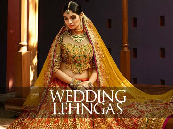 Beautiful Wedding Lehengs