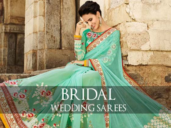 Gorgious Wedding Sarees