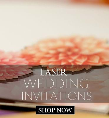 Laser Wedding Cards